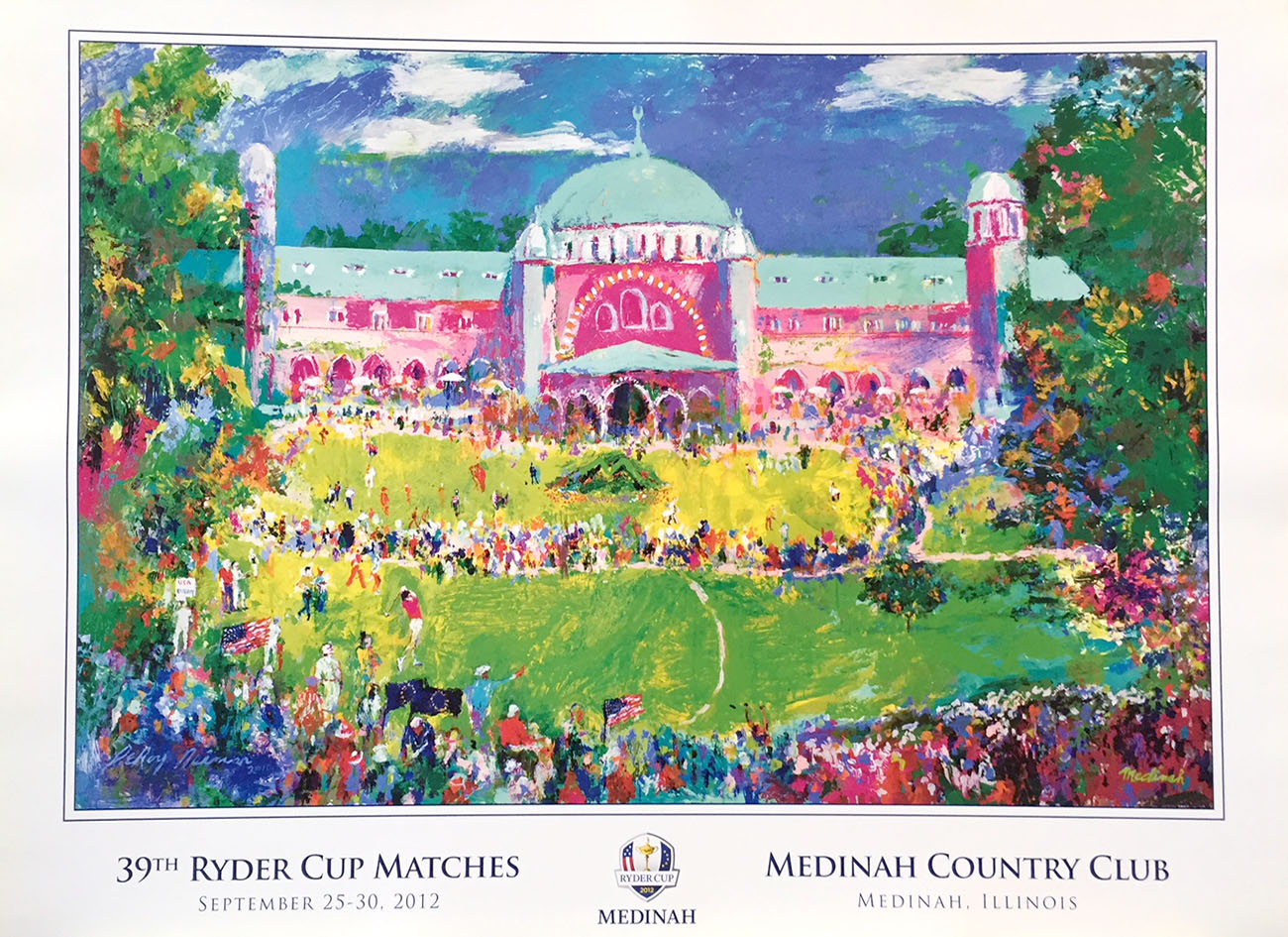 39th Ryder Cup, Medinah poster