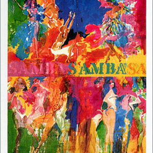 Carnaval in Rio 1982 poster