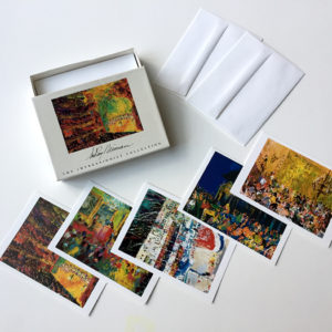 Impressionist Stationary set