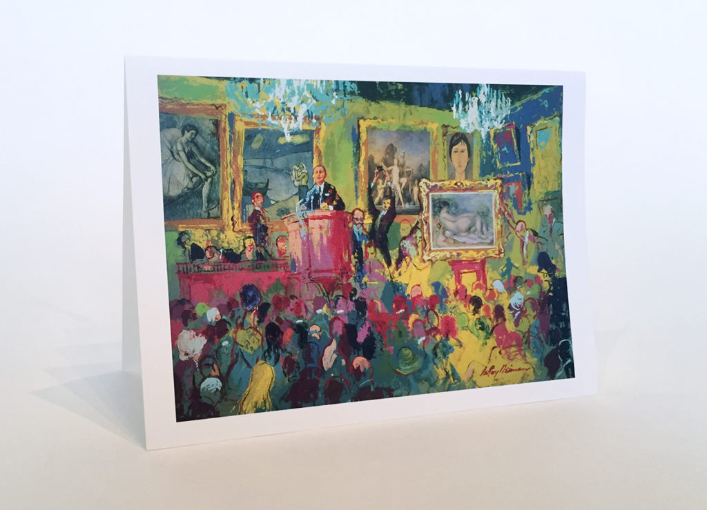 Impressionist Stationary example