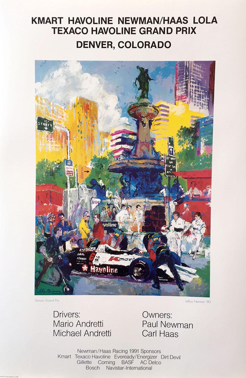 KMart Havoline, Denver Grand Prix poster