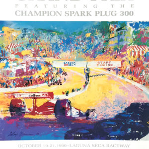 Laguna Seca Grand Prix poster