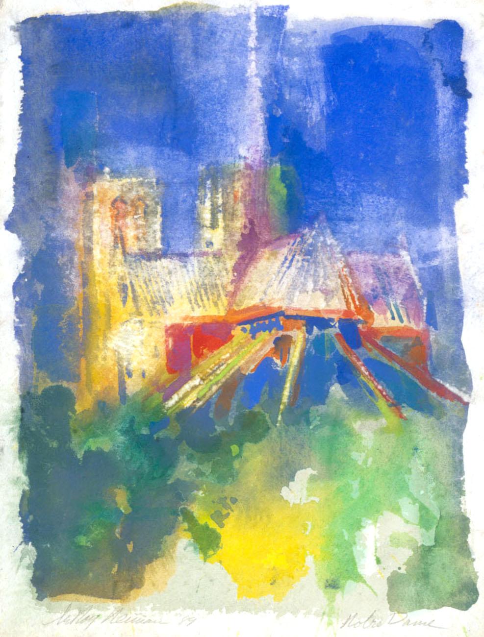 Notre Dame print