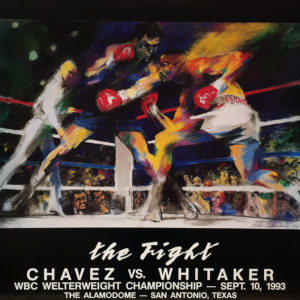 Chavez vs. Whitaker poster