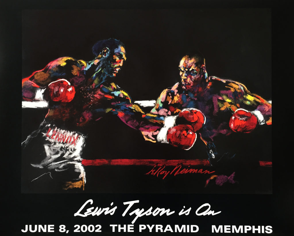 Lewis vs. Tyson is On poster