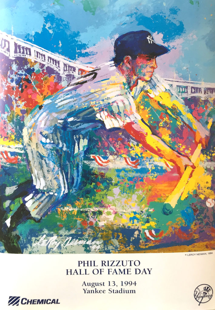 Phil Rizzuto poster