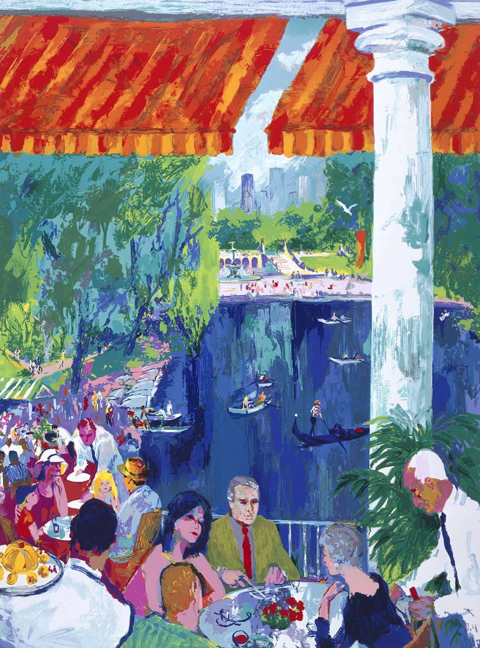 The Boat House, Central Park print