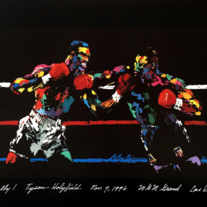 Tyson vs. Holyfield poster
