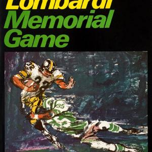 Vince Lombardi Memorial Game poster