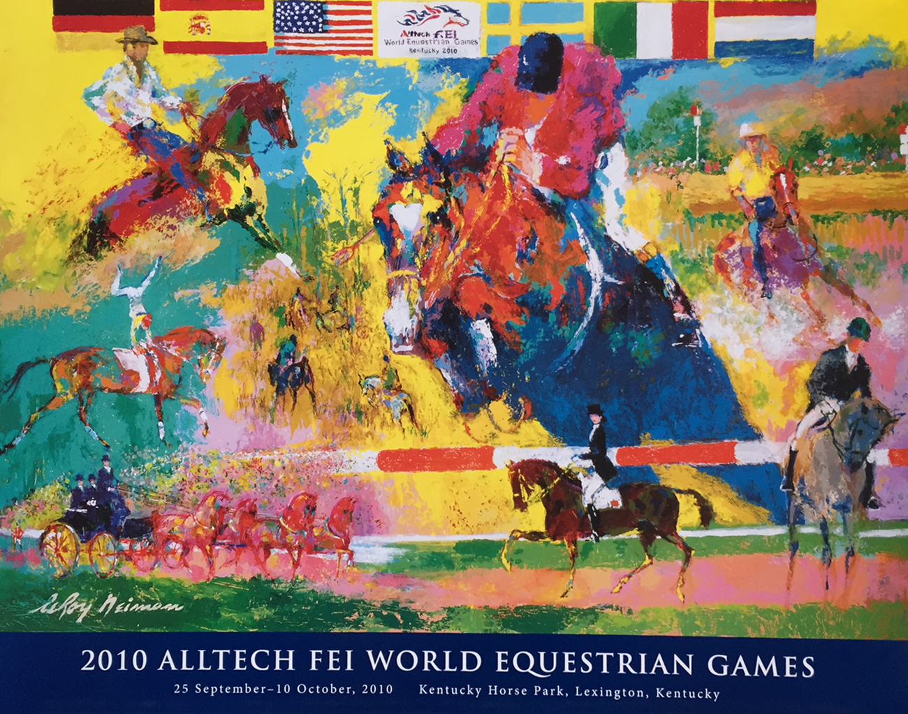 World Equestrian Games poster